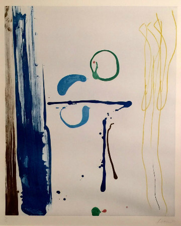 Helen Frankenthaler, Sunshine After Rain, 1987