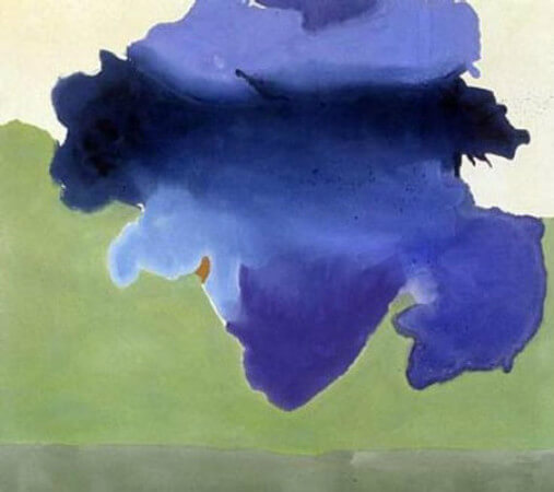 Helen Frankenthaler, The Bay, 1963