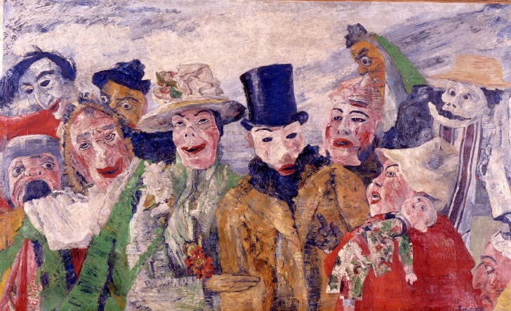 James Ensor - The Intrigue, 1890