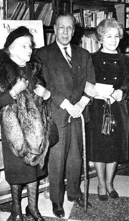 Jorge Luis Borges, annesi Leonor ve Elsa Astete