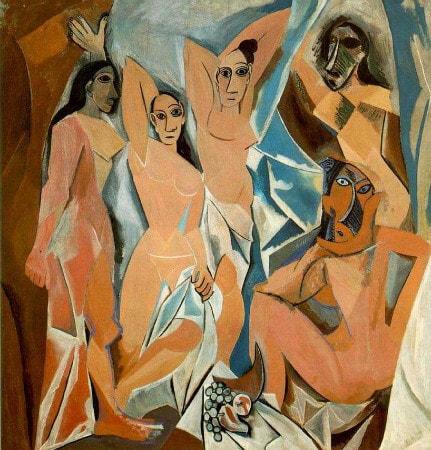 Pablo Picasso - Avignonlu Kizlar