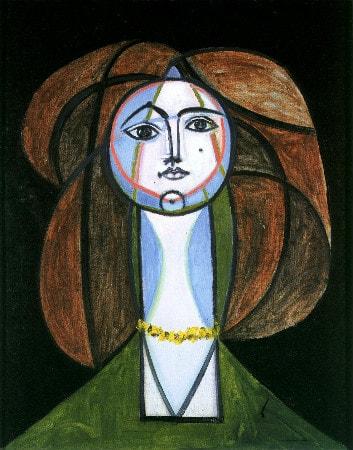 Pablo Picasso - Femme au Collier Jaune