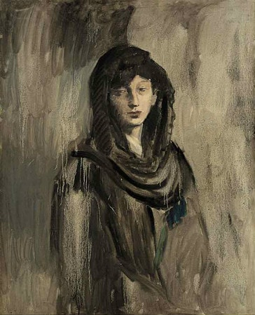 Pablo Picasso - Fernande With A Black Mantilla