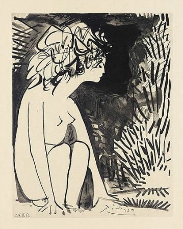 Pablo Picasso - Les Cavaliers d'ombre