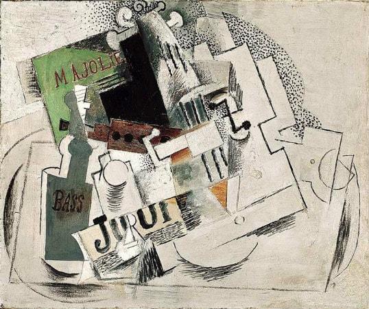 Pablo Picasso - Nature Morte, Musique (My Jolie)