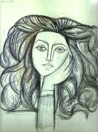 Pablo Picasso - Portrait de Francoise