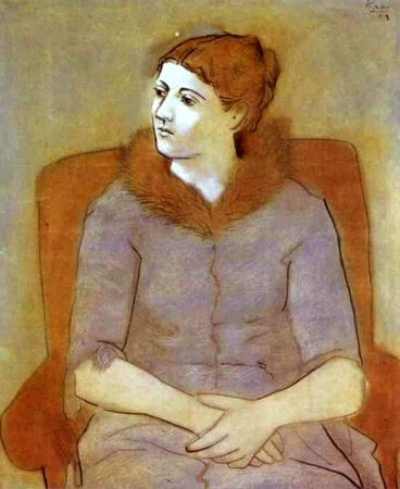 Pablo Picasso - Portrait of Olga