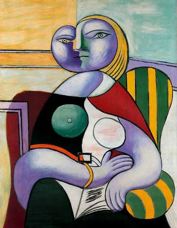 Pablo Picasso - Reading