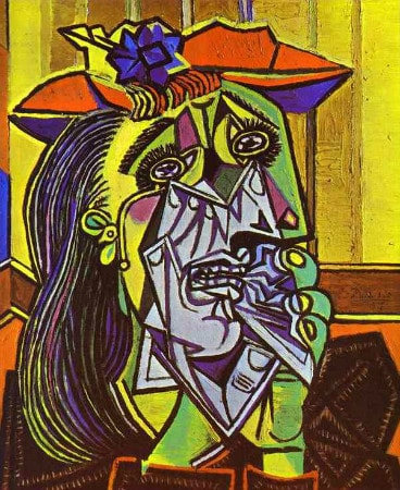 Pablo Picasso - The Weeping Woman