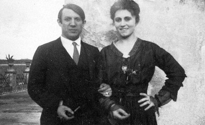 Pablo Picasso ve Olga Khokhlova