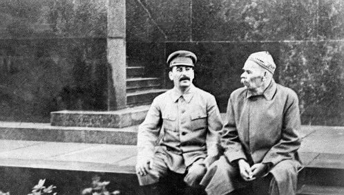 stalin ve gorki