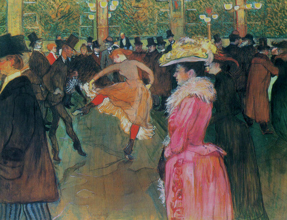 At The Moulin Rouge, The Dance, 1890