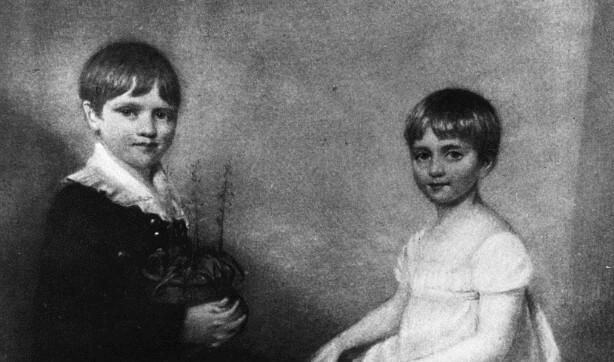 Darwin ve kız kardeşi Catherine