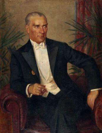 Feyhaman Duran, Ataturk Portresi, 1938