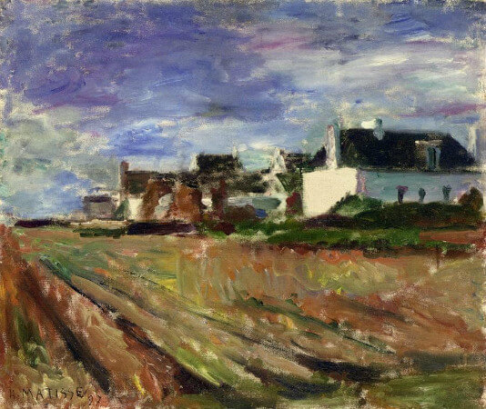 Henri Matisse - Farms In Brittany