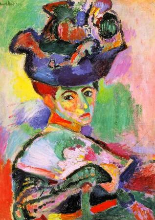 Henri Matisse - Femme Au Chapeau, 1905