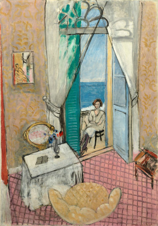Henri Matisse - Interior At Nice, 1920