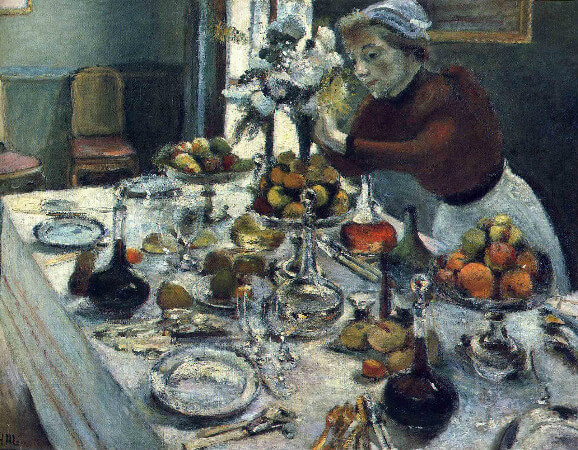Henri Matisse - The Dinner Table, 1897