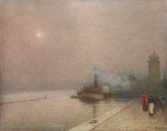 Jakub Schikaneder, Embankment