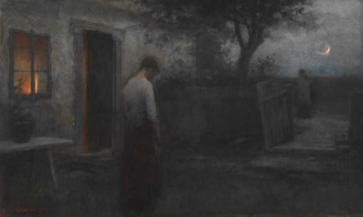 Jakub Schikaneder - Last Rites, 1891