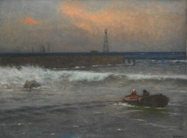 Jakub Schikaneder - Sea, 1924
