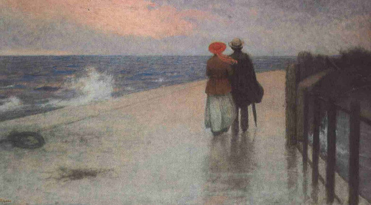 Jakub Schikaneder - The Honeymoon, 1920