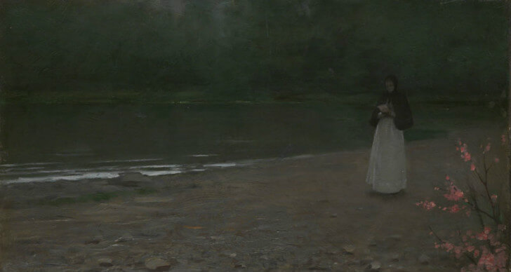 Jakub Schikaneder - The Novice, 1893