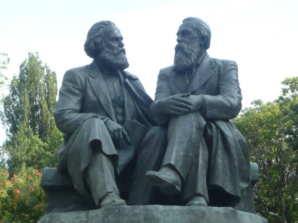Karl Marx ve Friedrich Engels