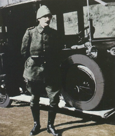 Kurmay Albay Mustafa Kemal, canakkale'de, 1915
