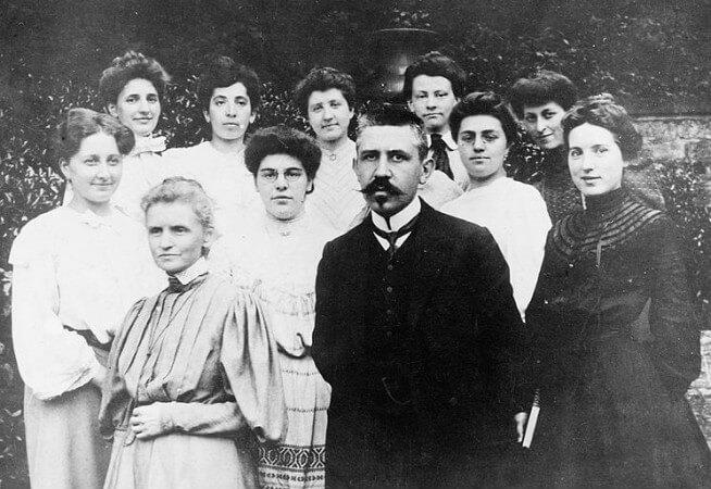 Marie Curie, Paul Langevin