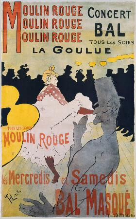 Moulin Rouge - La Goulue, 1891