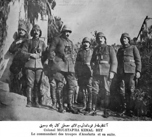 Mustafa Kemal, Anafartalar'da, 1915