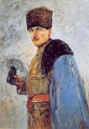 Nazmi Ziya, Mustafa Kemal Pasa, 1915