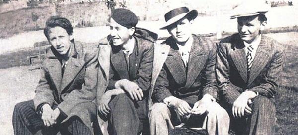 Orhan Veli, Sinasi Baray, Oktay Rifat, Melih Cevdet
