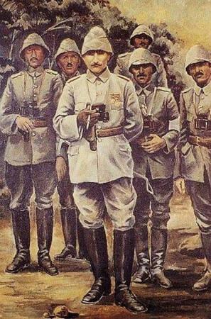Sami Yetik, Ataturk Anafartalar'da