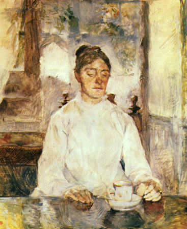 The Countess Adele de Toulouse Lautrec At Breakfast, 1881