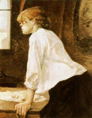 The Laundress, 1886