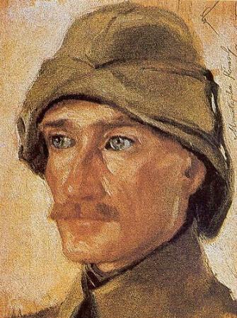 Wilhelm Viktor Krausz, Mustafa Kemal'in Portresi, 1916