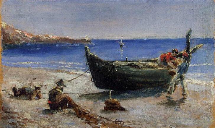 fishing boat 1880