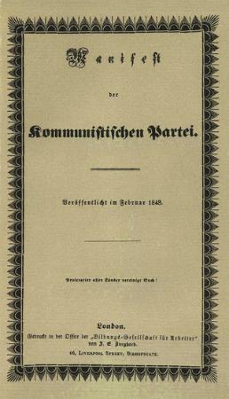 komunist manifesto