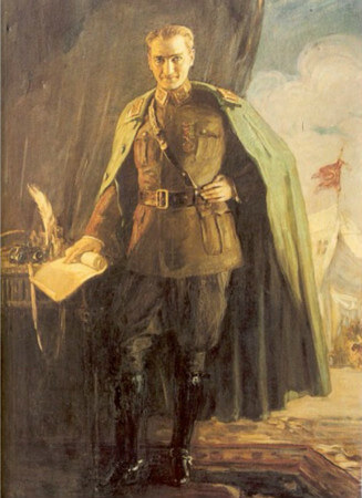 mihri musfik, Ataturk Maresal uniformasiyla