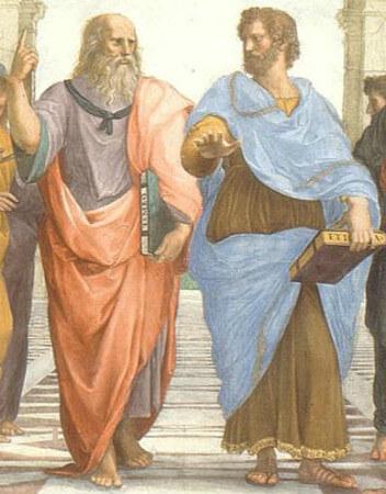 platon ve aristotales