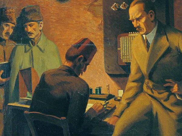 seref Akdik, Ataturk Telgraf Basinda, 1934