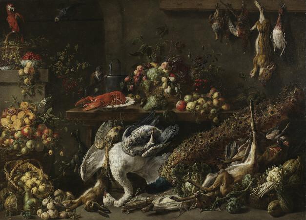 Adriaen van Utrecht, Banquet Still Life