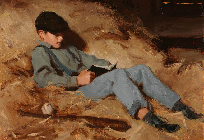 Clark Kelley Price, Reading in The Hayloft