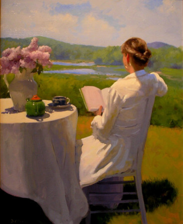 Dennis Perrin, Reading By The Edge Of The Marsh