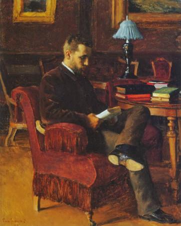 Eero Nicolai Jarnefelt, Portrait of Arvid Jarnefelt
