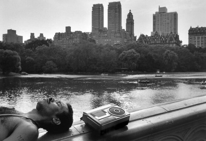 Ferdinando Scianna, New York, Central Park, 1985