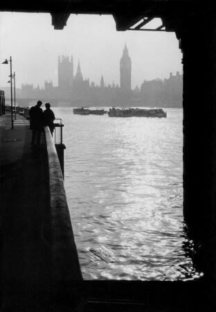 George Rodger, Londra, Thames Nehri, 1964