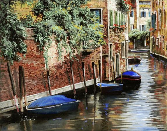 Guido Borelli, Barche A Venezia